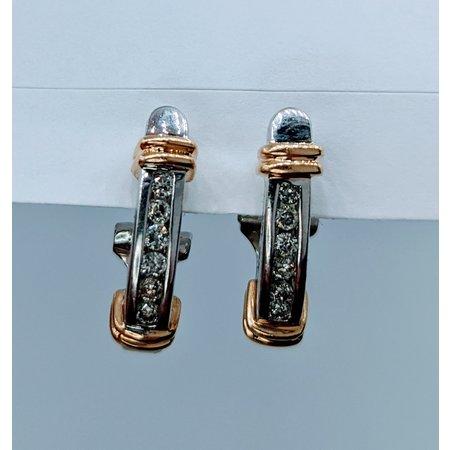 Earrings .20ctw Diamond 14tt 120050031