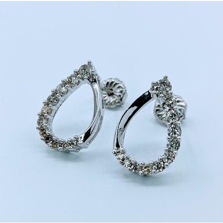 Earrings .33ctw  Diamond   14kw  120050085