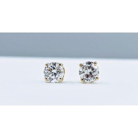 Earrings .50ctw  Diamond   14ky  120050058