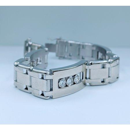 """Bracelet .90ctw Round 14kw 7.5"""" 220060009"""