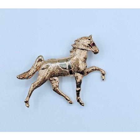 Brooch Horse 14ky 220060008