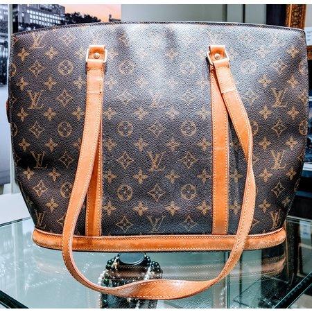 Louis Vuitton Tote Bag Babylone M51102 Browns Monogram 120070029