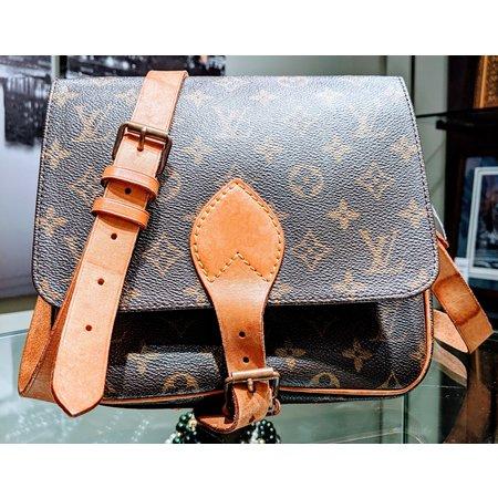Louis Vuitton Cartouchiere Gm Shoulder Bag Monogram Purse M51253 120070013