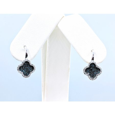 Earrings .22 DI Diamonds .22 CT 14KW 120080011