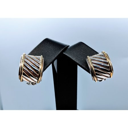 Earrings David Yurman Sterl/14kt 219080059