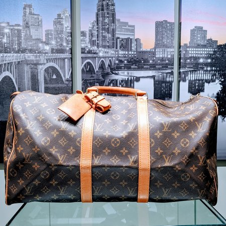 Louis Vuitton Duffel Keepall 50 Mono Brown M41426 120090031