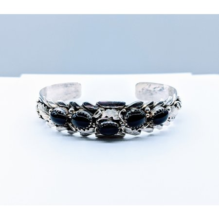 Bracelet Native American Onyx SS 220090008
