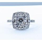 Ring .75ctw Diamonds 10kw Sz5 120090134