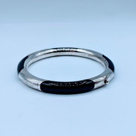 Bracelet Onyx Bangle Silver 120090172