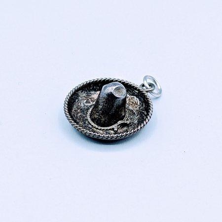 Charm Silver Sombrero 120090212