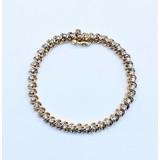"""Bracelet 2.00ctw Round Diamonds 14ky 7"""" 220090020"""