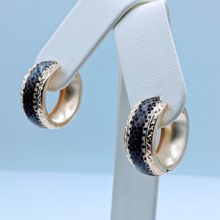 Earrings Enameled Animal Design 14ky 220090029