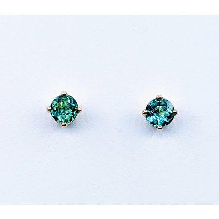 Earrings .54ctw Tourmaline 14ky 5.25x5.25mm 120090286