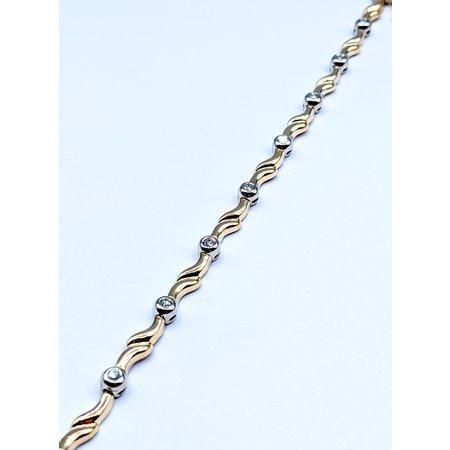 Bracelet 1/2ctw Diamond 14ky 119100141