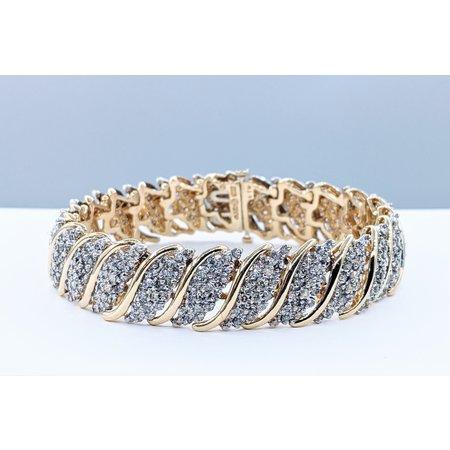 "Bracelet 2.4ctw  Diamond 14ktt 6.75"" 4200030855"