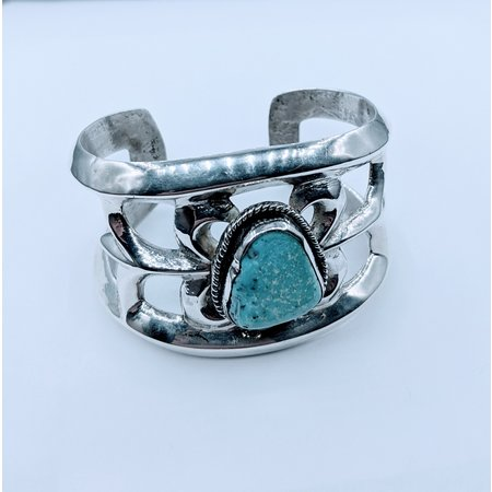 Bracelet Native American Cuff Turquoise SS 220100042