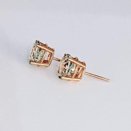 Earrings Green Topaz 14ky 219060079
