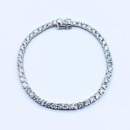 "Bracelet Diamond 11.91ctw Platinum 7.75"" 220100016"