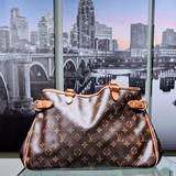 Handbag Louis Vuitton Batignolles Vertical M51153 Monogram 120100013