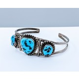 Bracelet Turquoise Native American Silver 220100070