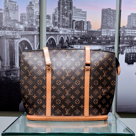 Handbag Louis Vuitton Babylone Monogram M51102 120110017