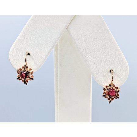 Earrings .50ctw Tourmaline 14ky 120090416