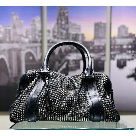 Handbag Studded Burberry Black 220120002