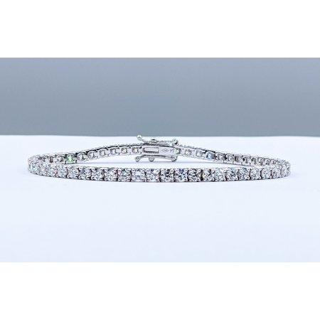 "Bracelet Tennis 4ctw Round Diamonds 6.25"" 220110065"