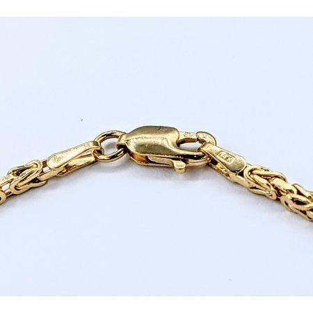 """Bracelet 7"""" Byzantine 14ky 120120011"""