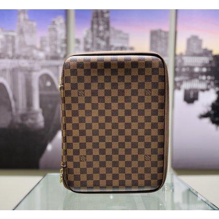 Laptop Case Louis Vuitton Brown Damier 120120064