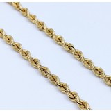 """Necklace 18"""" Rope 14ky 121010008"""