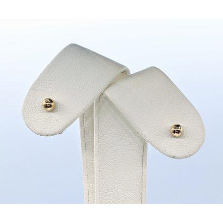 Earrings Ball 3.8mm 14ky 221010042