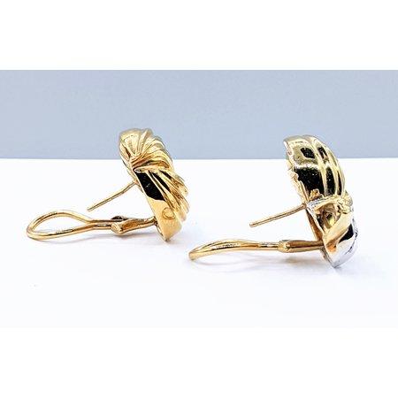 Earrings .50ctw Diamond 18kt 121010046