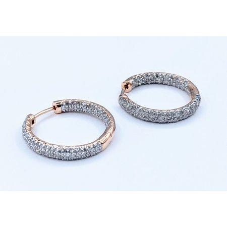 Earrings 1.00ctw Diamond 14kr 121010045