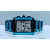 Watches Cartier Tank Francaise Calendar Blue PVD 2303 320080019