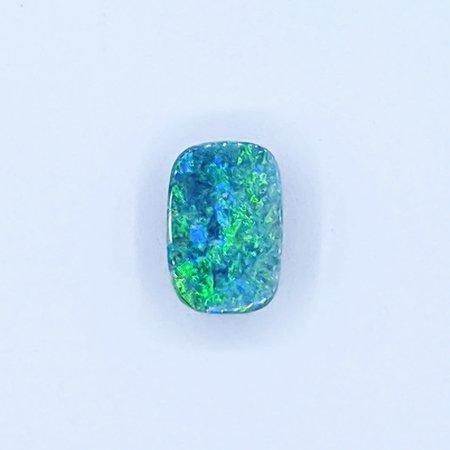 Loose Black Australian Opal Dublet 2.51ct 121020017