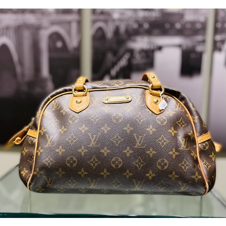 Handbag Louis Vuitton Montorgueil PM Monogram 121030027
