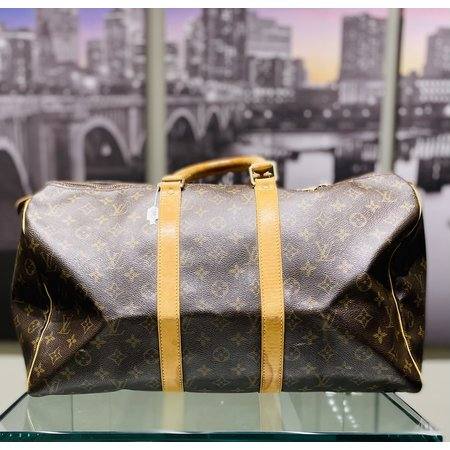 Duffle Louis Vuitton Keepall 45 Monogram 121030032