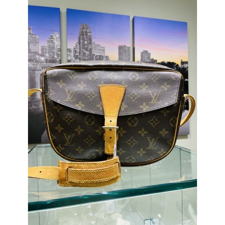 Handbag Louis Vuitton Monogram Jeune Fille GM 121030072