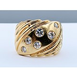 RIng .75ctw Round Diamonds 14ky Sz6.5 221030024