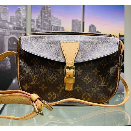 Handbag Louis Vuitton Monogram Jeune Fille Cross Body 121030101