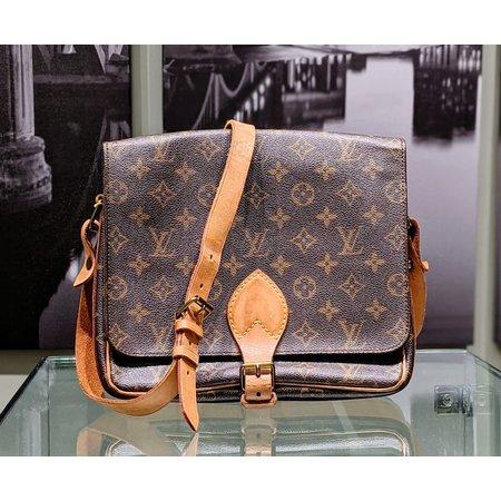 Handbag Louis Vuitton Monogram Cartouchiere GM Shoulder Bag M51252 121030088