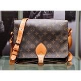 Handbag Louis Vuitton Monogram Cartouchiere GM Shoulder Bag M51252 121030087