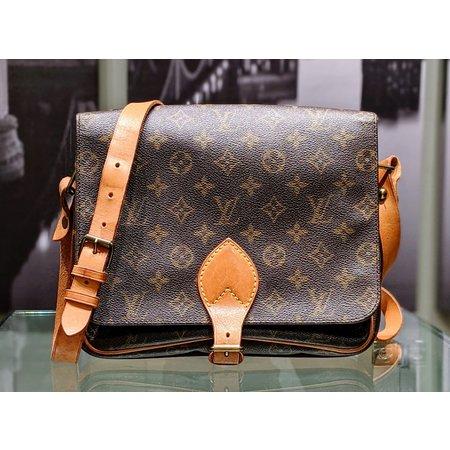 Handbag Louis Vuitton Monogram Cartouchiere GM Shoulder Bag M51252 121030087