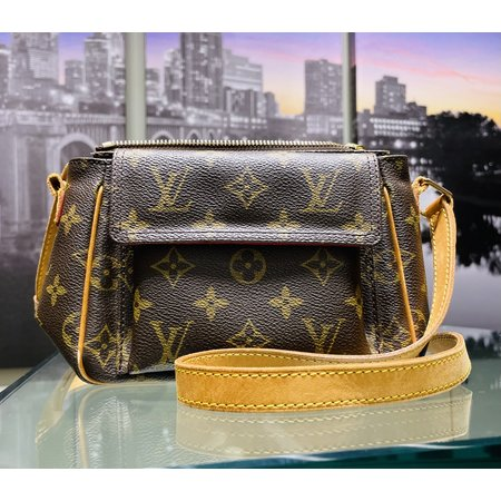Handbag Louis Vuitton Monogram Viva Cite PM Shoulder Bag M51165 121030093