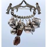 Brooch Brazilian Charm Silver 221040013