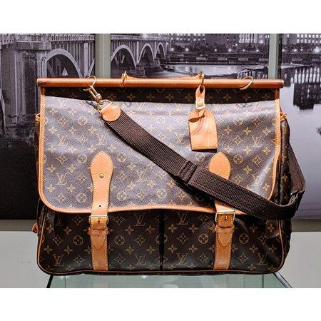Handbag Louis Vuitton Monogram Sac Chasse 2Way Travel Bag M41140 121040022