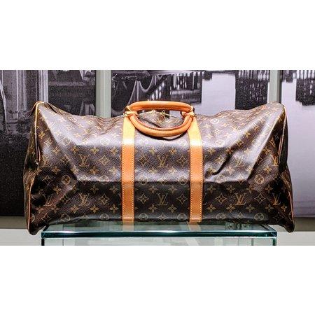 Handbag Louis Vuitton Vintage Monogram Keepall 55 Travel Bag 121040032