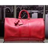Handbag Louis Vuitton Keepall 45 M5906E Rouge Epi SP0094 Boston Bag 121040031