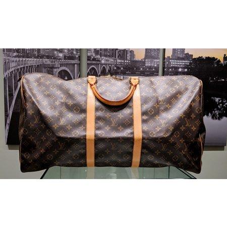 Handbag Louis Vuitton Keepall 60 Hand Boston Bag M41422 Monogram 121040030
